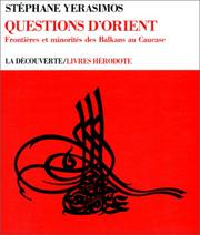 Cover of: Questions d'Orient