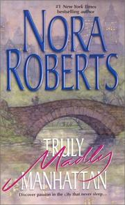 Cover of: Truly, Madly Manhattan | Nora Roberts