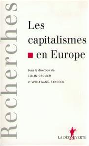 Cover of: Les capitalismes en Europe