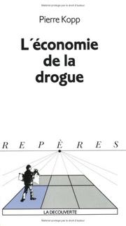 Cover of: L' économie de la drogue