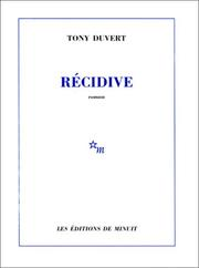 Cover of: Récidive
