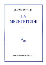Cover of: La meurtritude