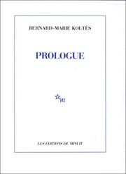 Cover of: Prologue
