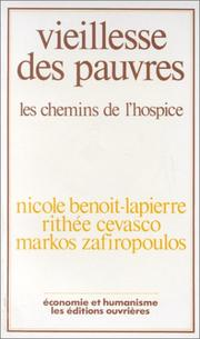 Cover of: Vieillesse des pauvres