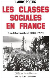 Cover of: Les classes sociales en France