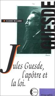 Cover of: Jules Guesde