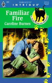 Cover of: Familiar Fire (A Fear Familiar Mystery) | Caroline Burnes