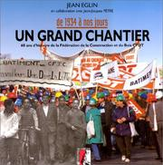 Cover of: Un grand chantier
