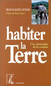 Cover of: Habiter la terre