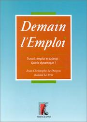 Cover of: Demain l'emploi