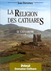 Cover of: La Religion des cathares