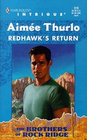 Cover of: Redhawk'S Return  (The Brothers Of Rock Ridge) | Aimée Thurlo