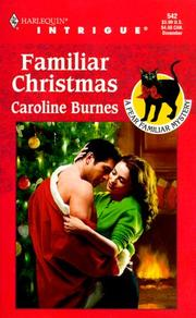Cover of: Familiar Christmas (Fear Familiar) by Caroline Burnes