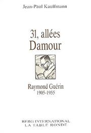 Cover of: 31, allées Damour
