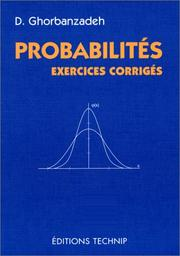 Cover of: Probabilités