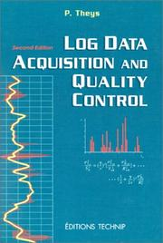 Cover of: Log data acquisition and quality control