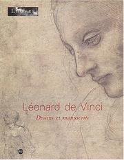 Cover of: Léonard de Vinci