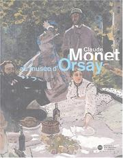 Cover of: Claude Monet au Musée d'Orsay