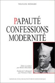 Cover of: Papauté, confessions, modernité