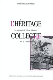 Cover of: L' héritage collectif