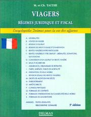 Cover of: Viagers