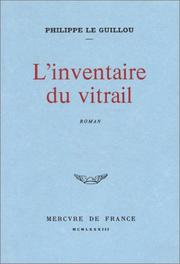 Cover of: L' inventaire du vitrail