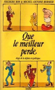 Cover of: Que le meilleur perde