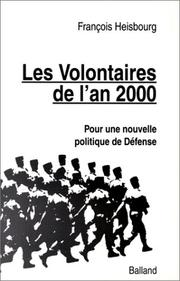 Cover of: Les volontaires de l'an 2000