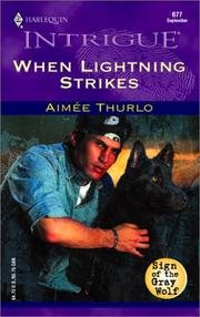 Cover of: When Lightning Strikes  (Sign Of The Gray Wolf)