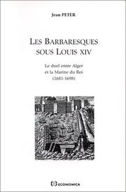 Cover of: Les barbaresques sous Louis XIV