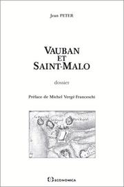 Cover of: Vauban et Saint-Malo