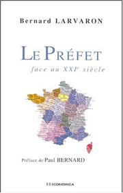 Cover of: Le préfet