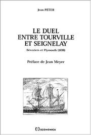 Cover of: Le duel entre Tourville et Seignelay