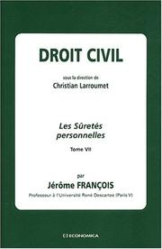 Cover of: Droit civil