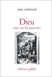 Cover of: Dieu