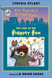 Cover of: The High-Rise Private Eyes #6: The Case of the Fidgety Fox (The High-Rise Private Eyes)