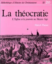 Cover of: La théocratie