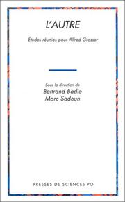 Cover of: L'autre