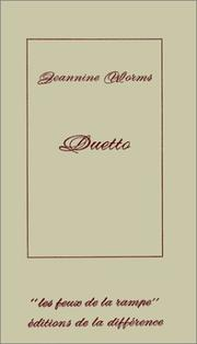 Cover of: Duetto