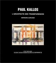 Cover of: Paul Kallos