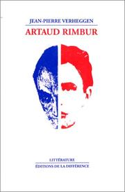 Cover of: Artaud Rimbur
