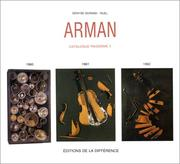Cover of: Arman