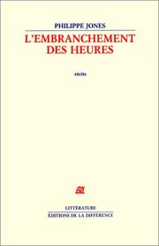 Cover of: L' embranchement des heures