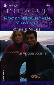 Cover of: Rocky Mountain mystery | Cassie Miles
