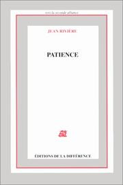 Cover of: Patience