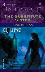 Cover of: substitute sister | Lisa Childs
