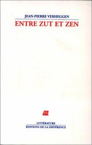 Cover of: Entre zut et zen