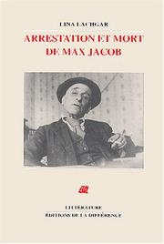 Cover of: Arrestation et mort de Max Jacob