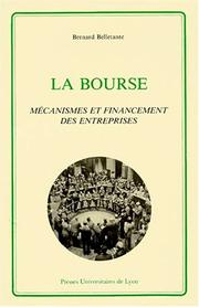 La Bourse by Bernard Belletante