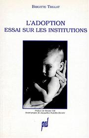 Cover of: L' adoption